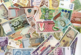 Picture of 50 Notes 50 Countries (CF)