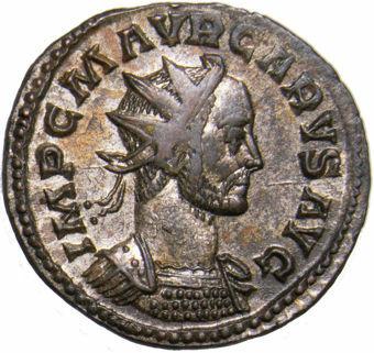 Carus AE_Antoninianus_Rev._VICTORIA_AVGG_obv
