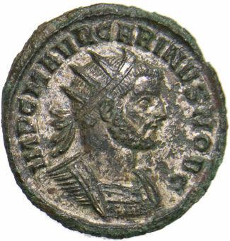 Carinus AE. Antoninianus_obv