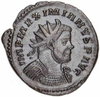 Choice-Antoninianus-of-Maximian-Extremely-Fine