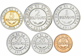 Bolivia_6_coin_set