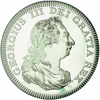 George III_Bahamas_Patina_Pewter_obv