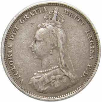 Victoria_Jubilee Head_Shilling_VG_obv