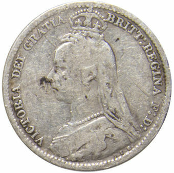 Victoria_Jubilee Head_Sixpence_VG_obv