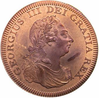 George III_Sierra_Leone_Patina_Copper_obv
