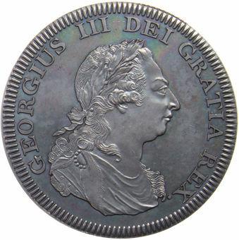 George III_Sierra_Leone_Patina_Pewter_obv