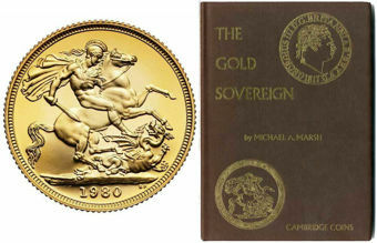 1980 Sovereign Proof Gold FDC in case + 1st Edition of The Gold Sovereign