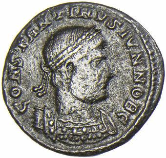 Constantine_II_Gloria_Exercitus_Very_Fine_obv