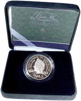 2000_£5_Queen_Mother_Silver_Piedfort