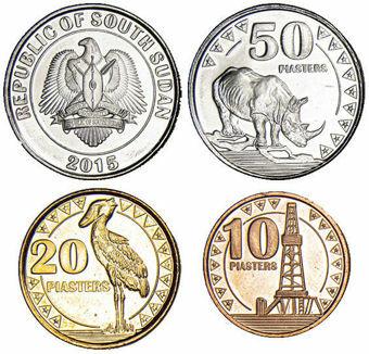 South Sudan_Mint_Set_2015_3_coins