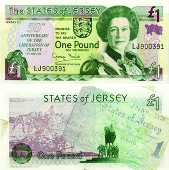 Jersey Liberation £1 1995  Liberation P25 Unc