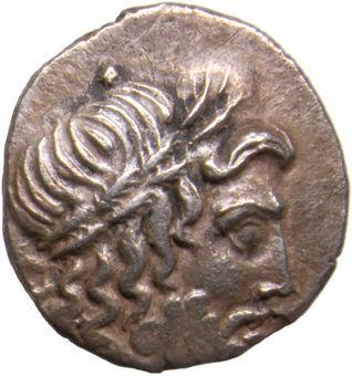 Thessaly, Thessalian League. Ca. 196-146 B.C. AR Double Victoriatus_obv