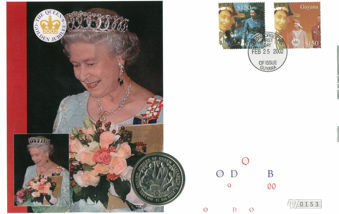 Guyana stamps crown cover
