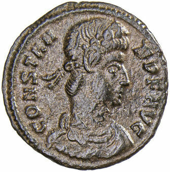Constans Two Victories Very Fine_obv