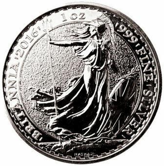 2016 £2 Silver Britannia (Monkey Privy Mark)
