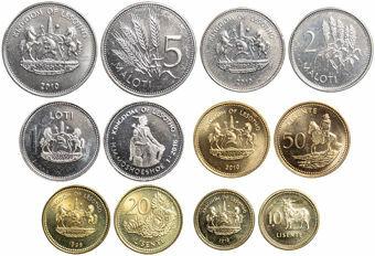 Lesotho_Mint_Set_1988-2010 (6 coins)
