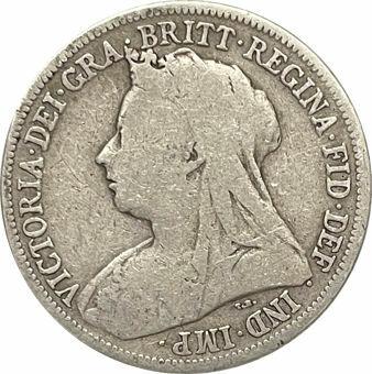 1899 Shilling Obv