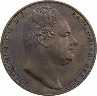 Picture of William IV, 3 Graces Bronzed Copper