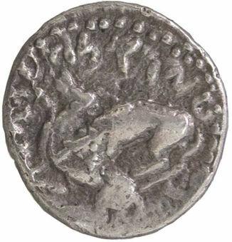 Phoenicia, Byblos (Gebal). King Adramelek Ca. 350 B.C. AR 1/8 Shekel_obv