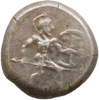 Pamphylia, Aspendos. Ca. 465-430 B.C. AR Stater_obv