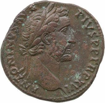 Antoninus Pius. A.D. 138-161. Rome - A.D. 146. Æ Sestertius. COS IIII_obv
