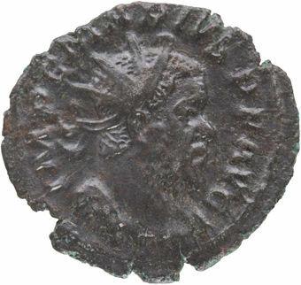 Marius, Billon Antoninianus. SAEC FELICITAS_obv