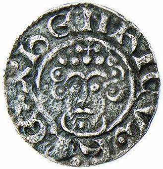 King John Penny in Very Fine_obv