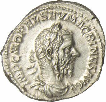 Macrinus, AD 217-218, AR Denarius, SECVRITAS TEMPORVM_obv