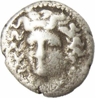 Thessaly, Larissa, ca. 344-337 B.C., Silver Trihemiobol_obv