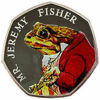 50p (Beatrix Potter Mr. Jeremy Fisher) Silver Proof_rev