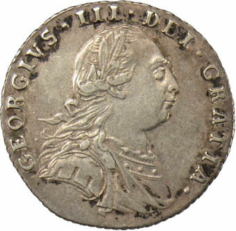 1787 Sixpence Very Fine_obv