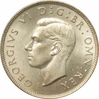 1946 Florin Choice Uncirculated_obv