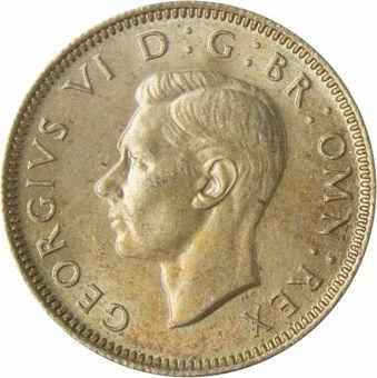 1945 Shilling English reverse_obv
