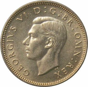 1945 Shilling Scottish reverse_obv