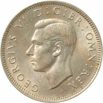 1948 Shilling English reverse