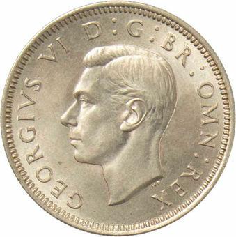 1950 English Shilling
