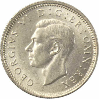 1940 Sixpence_obv