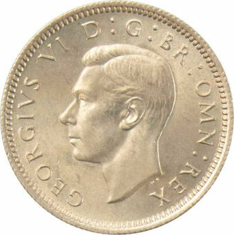 1948 Sixpence_obv