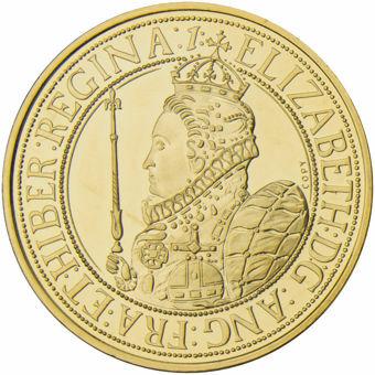 Elizabeth I Replica Crown Goldine_obv
