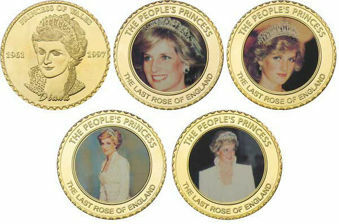 Diana 5 medal collection