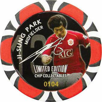 Manchester United token Ji Sung Park