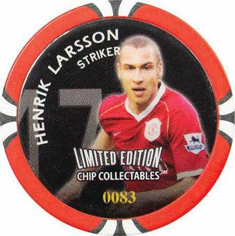 Manchester United token Larsson