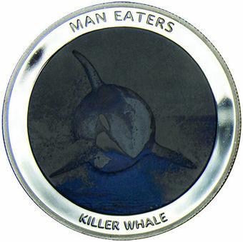 Uganda_100_Shillings_Killer-Whale_Silvered_Proof_obv