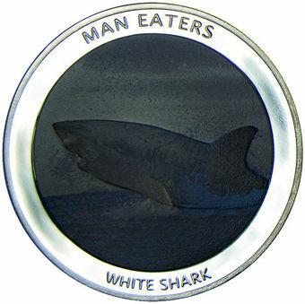 Uganda_100_Shilling_White_Shark_Silvered_Proof_obv