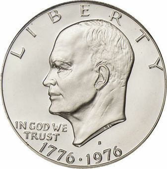 1976 Bicentennial Dollar Silver Proof_obv