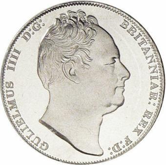 William IV_Scotland_Patina_in_Aluminium_obv
