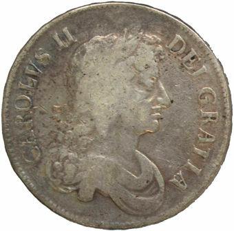 1672 Crown Fine_obv