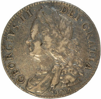 1746 Lima Halfcrown VF_obv