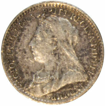 1895 Maundy Penny (Old Head) Uncirculated_obv
