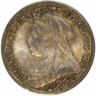 1898 Maundy Penny (Old Head) Unc_obv